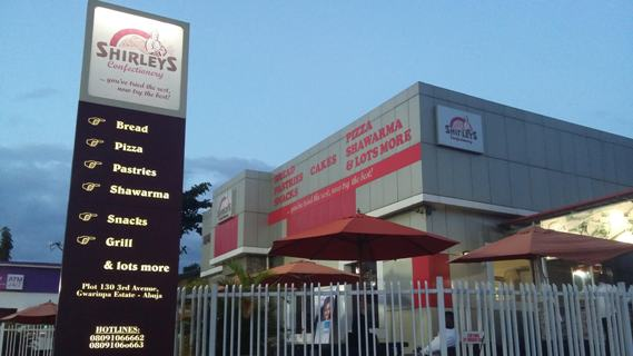 Shirleys Confectionery Abuja - Pizza